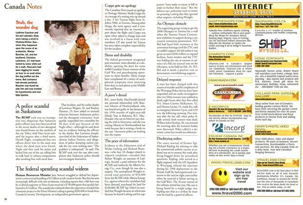 Article Preview: Canada Notes, February 2000 | Maclean's