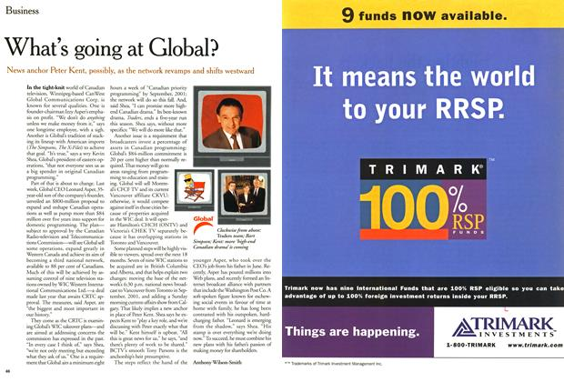 Article Preview: What's going at Global?, February 2000 | Maclean's