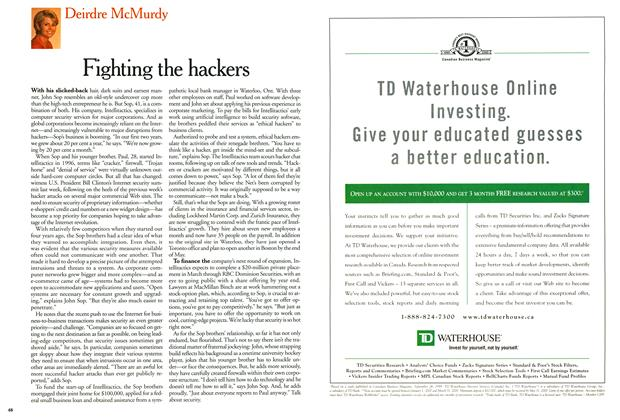 Article Preview: Fighting the hackers, February 2000 | Maclean's