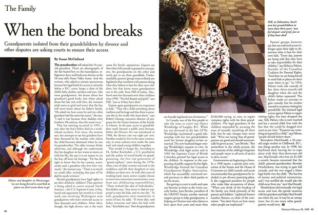 Article Preview: When the bond breaks, February 2000 | Maclean's