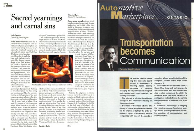 Article Preview: Sacred yearnings and carnl sins, February 2000 | Maclean's