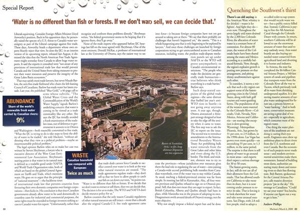Article Preview: Quenching the Southwest's thirst, March 2000 | Maclean's