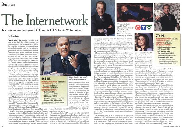 Article Preview: The Internetwork, March 2000 | Maclean's