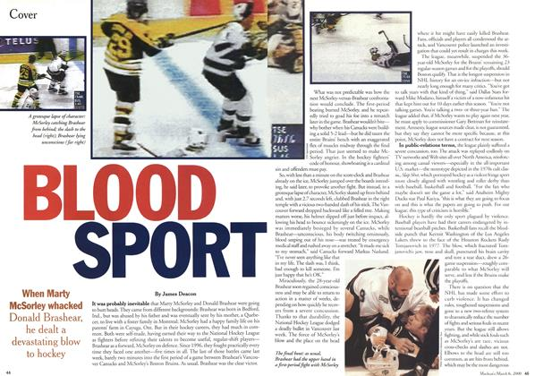 Article Preview: BLOOD SPORT, March 2000 | Maclean's