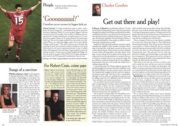 Article Preview: Get out there and play!, March 2000 | Maclean's