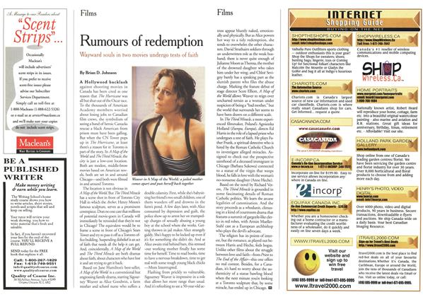 Article Preview: Rumours of redemption, March 2000 | Maclean's