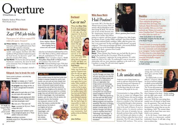 Article Preview: Overture, March 2000 | Maclean's
