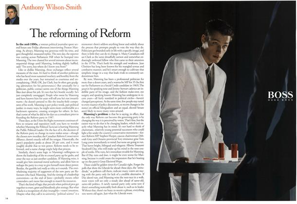 Article Preview: The reforming of Reform, March 2000 | Maclean's