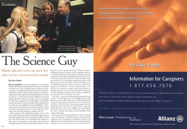Article Preview: The Science Guy, March 2000 | Maclean's