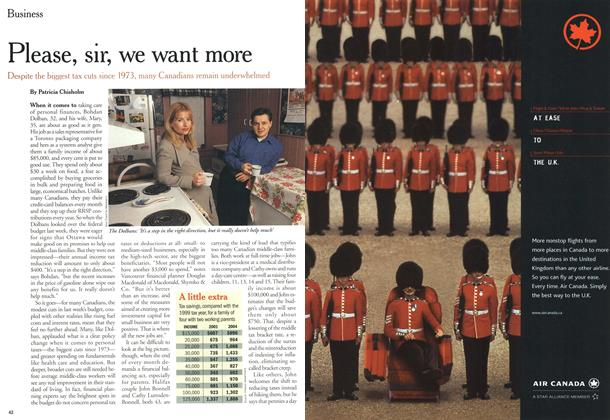 Article Preview: Please, sir, we want more, March 2000 | Maclean's