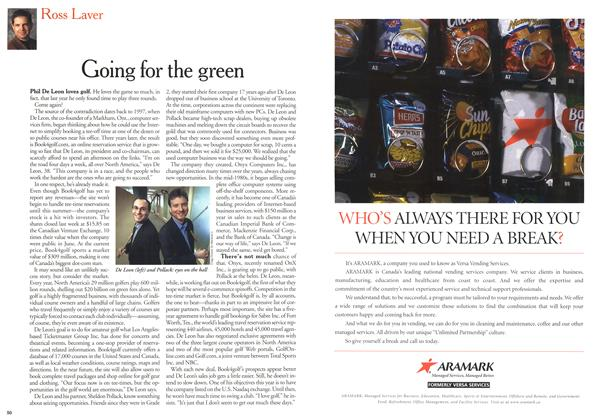 Article Preview: Going for the green, March 2000 | Maclean's