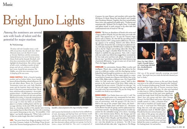 Article Preview: Bright Juno Lights, March 2000 | Maclean's