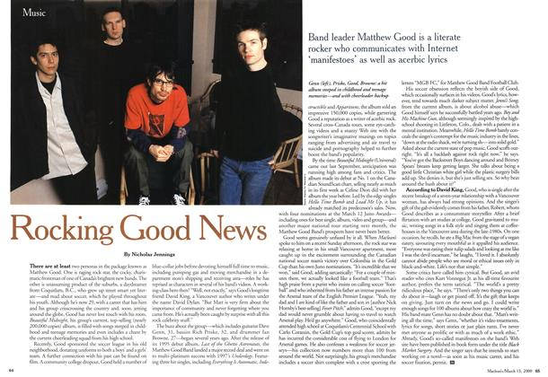 Article Preview: Rocking Good News, March 2000 | Maclean's