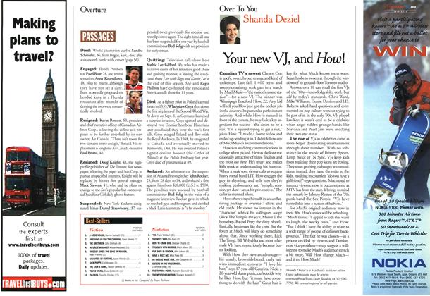 Article Preview: Your new VJ, and How!, March 2000 | Maclean's