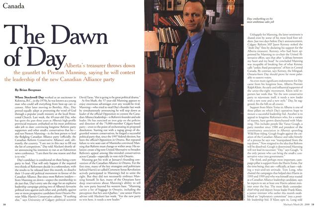 Article Preview: The Dawn of Day, March 2000 | Maclean's