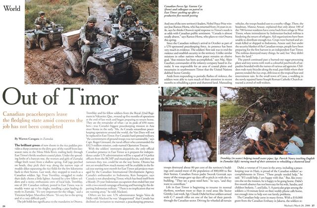 Article Preview: Out of Timor, March 2000 | Maclean's