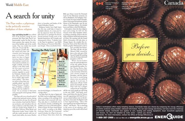 Article Preview: A search for unity, March 2000 | Maclean's