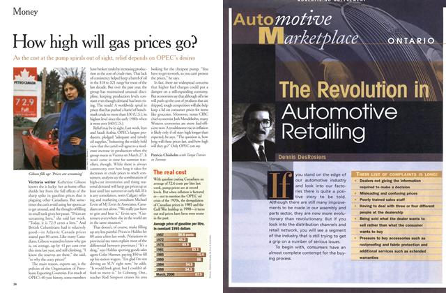 Article Preview: How high will gas prices go?, March 2000 | Maclean's