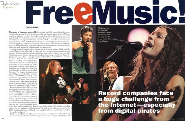 Article Preview: Free Music!, March 2000 | Maclean's