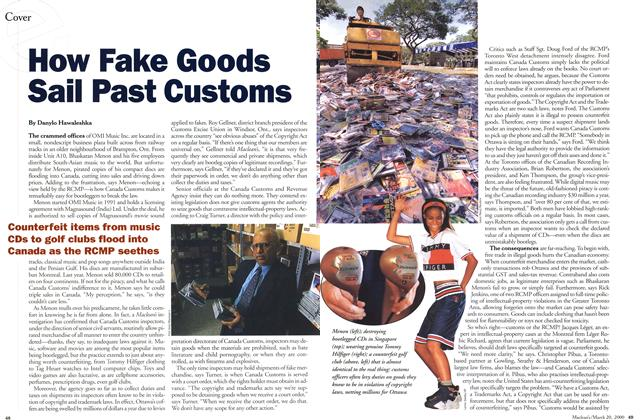 Article Preview: How Fake Goods Sail Past Customs, March 2000 | Maclean's