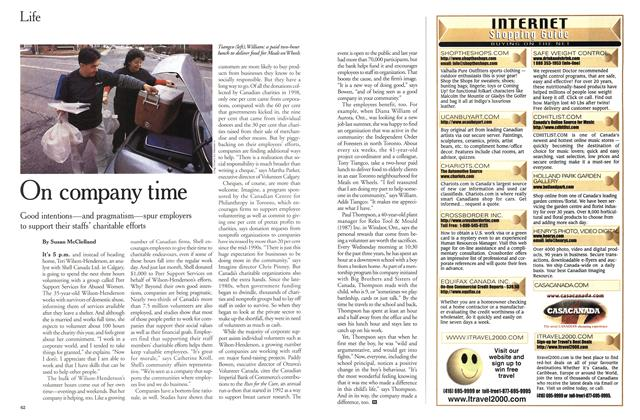 Article Preview: On company time, March 2000 | Maclean's