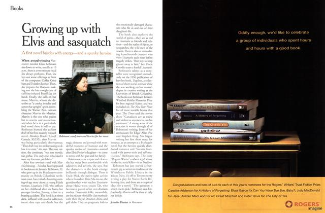 Article Preview: Growing up with Elvis and sasquatch, March 2000 | Maclean's