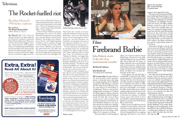 Article Preview: Firebrand Barbie, March 2000 | Maclean's