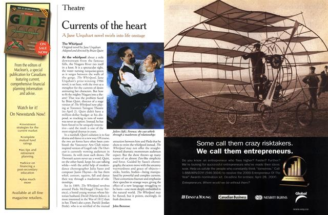 Article Preview: Currents of the heart, March 2000 | Maclean's