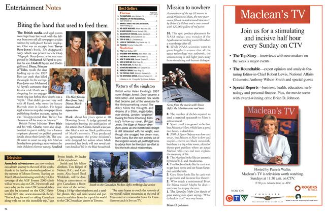 Article Preview: Entertainment Notes, March 2000 | Maclean's