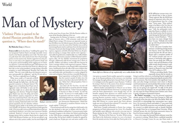 Article Preview: Man of Mystery, March 2000 | Maclean's