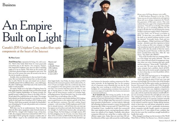 Article Preview: An Empire Built on Light, March 2000 | Maclean's