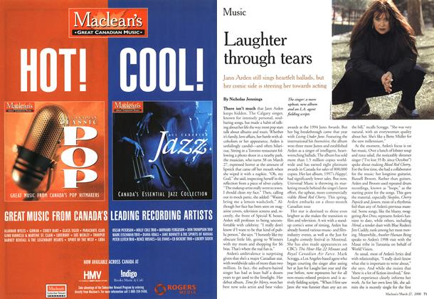 Article Preview: Laughter through tears, March 2000 | Maclean's