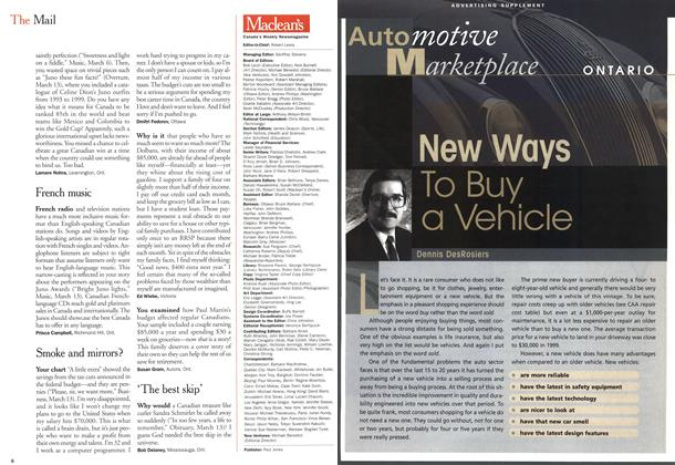 Article Preview: New Ways To Buy a Vehicle, March 2000 | Maclean's