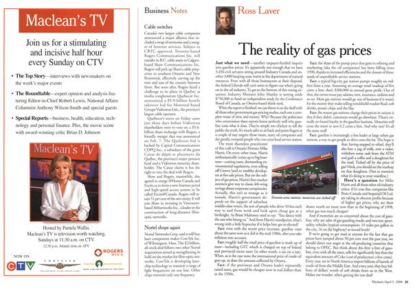 Article Preview: The reality of gas prices, April 3,2000 2000 | Maclean's