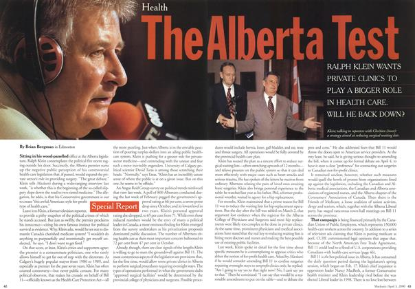 Article Preview: The Alberta Test, April 3,2000 2000 | Maclean's
