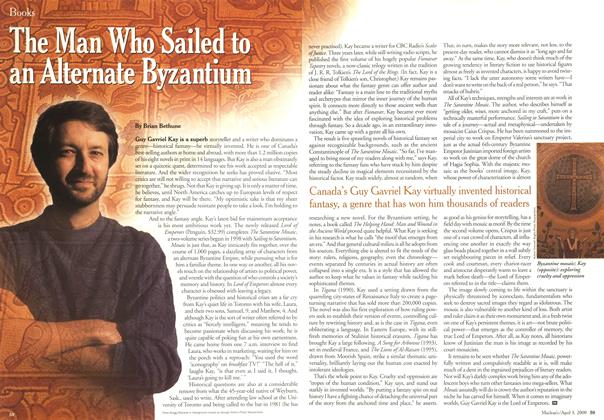 Article Preview: The Man Who Sailed to an Alternate Byzantium, April 3,2000 2000 | Maclean's