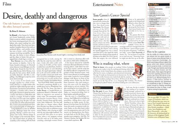 Article Preview: Desire, deathly and dangerous, April 3,2000 2000 | Maclean's