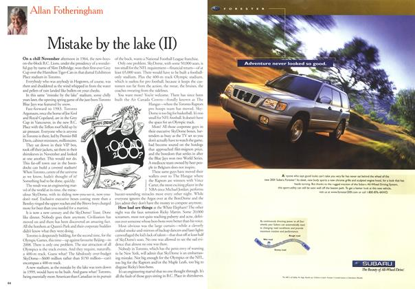 Article Preview: Mistake by the lake (II), April 3,2000 2000 | Maclean's