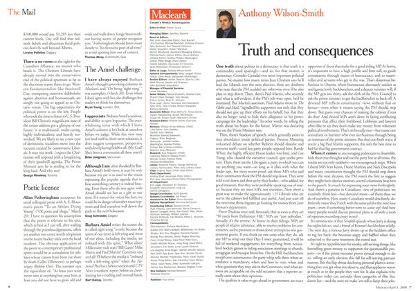 Article Preview: Truth and consequences, April 3,2000 2000 | Maclean's