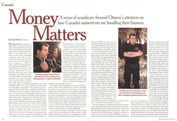 Article Preview: Money, Matters, April 2000 | Maclean's