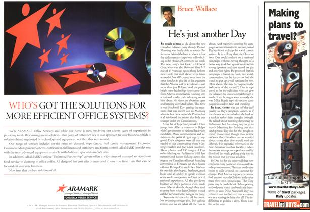 Article Preview: He's just another Day, April 2000 | Maclean's
