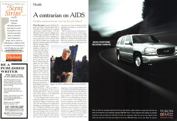 Article Preview: A contrarian on AIDS, April 2000 | Maclean's