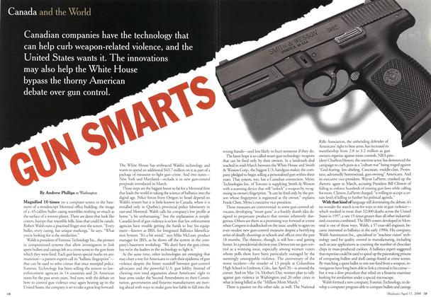Article Preview: GUN SMARTS, April 2000 | Maclean's