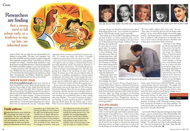 Article Preview: Family patterns, April 2000 | Maclean's