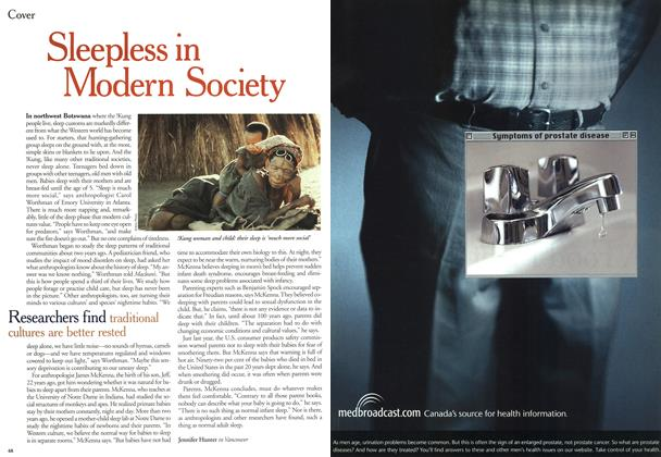 Article Preview: Sleepless in Modern Society, April 2000 | Maclean's