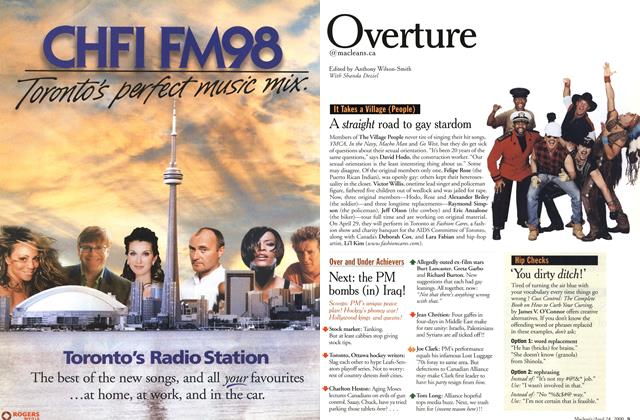 Article Preview: Overture, April 2000 | Maclean's