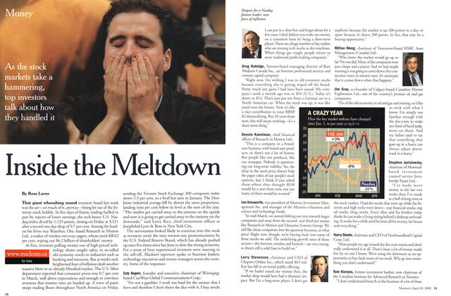 Article Preview: Inside the Meltdown, April 2000 | Maclean's