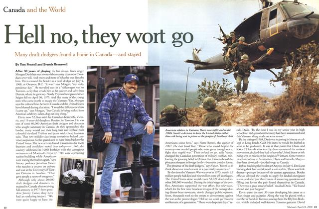 Article Preview: Hello no, they won't go, April 2000 | Maclean's
