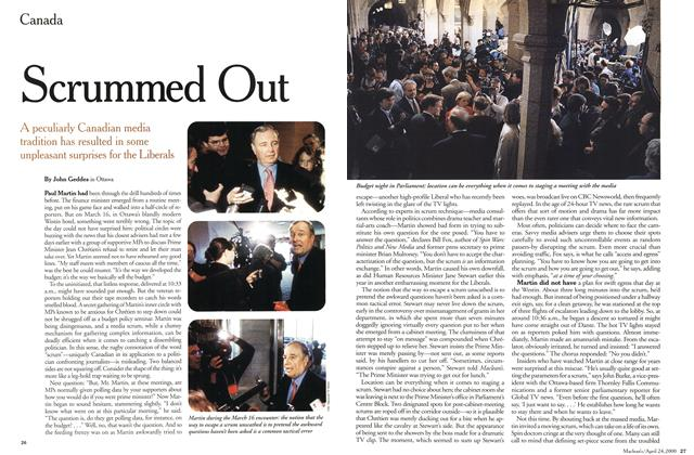 Article Preview: Scrummed Out, April 2000 | Maclean's