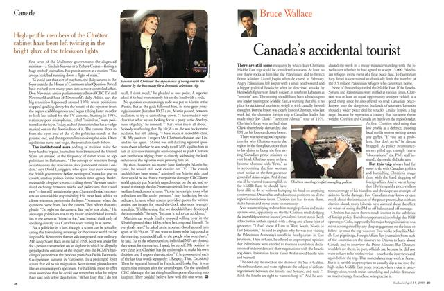 Article Preview: Canada's accidental tourist, April 2000 | Maclean's